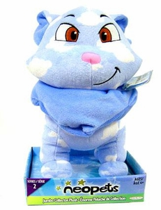 Neopets Series 2 Deluxe 10 Inch Collector Plush Cloud Wocky