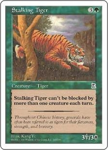Magic the Gathering Portal Three Kingdoms Single Card Common #149 Stalking Tiger