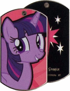 My Little Pony Friendship is Magic Single Dog Tag #1 Twilight Sparkle