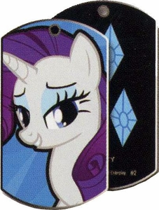 My Little Pony Friendship is Magic Single Dog Tag #2 Rarity