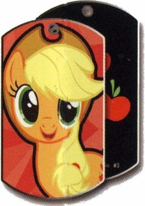 My Little Pony Friendship is Magic Single Dog Tag #3 Applejack