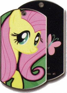 My Little Pony Friendship is Magic Single Dog Tag #5 Fluttershy