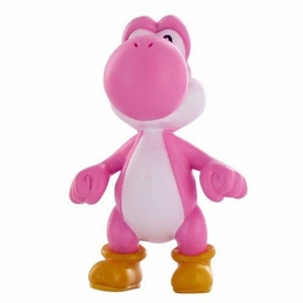 Super Mario Brothers Nintendo Limited Edition LOOSE Mini Figure PINK Yoshi