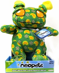 Neopets Series 3 Deluxe 10 Inch Collector Plush Disco Grundo