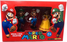 Super Mario Brothers Nintendo Special 3-Pack Collection Luigi, Mario & Princess