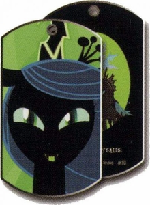 My Little Pony Friendship is Magic Single Dog Tag #10 Queen Chrysalis