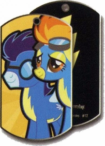 My Little Pony Friendship is Magic Single Dog Tag #12 Spitfire & Soarin
