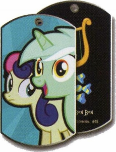 My Little Pony Friendship is Magic Single Dog Tag #16 Lyra Heartstrings & Bon Bon