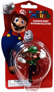 Super Mario Backpack Buddy Keychain Collection Luigi