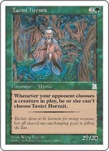 Magic the Gathering Portal Three Kingdoms Single Card Uncommon #150 Taoist Hermit