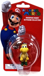 Super Mario Backpack Buddy Keychain Collection Koopa Troopa