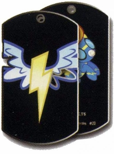 My Little Pony Friendship is Magic Single Dog Tag #20 Wonderbolts