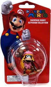 Super Mario Backpack Buddy Keychain Collection Dixie Kong