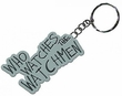 "NECA Watchmen Movie ""Who Watches The Watchmen"" Metal Keychain"