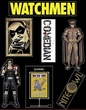 NECA Watchmen Movie Set of 6 Magnets Night Owl & Comedian