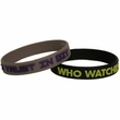 NECA Watchmen Movie Set of 2 Rubber Bracelets Ozymandias