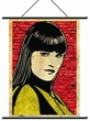 NECA Watchmen Movie Pop Art Wall Scroll Silk Spectre