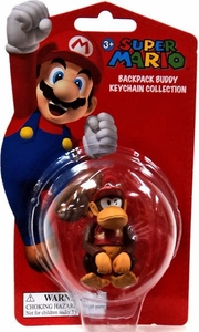 Super Mario Backpack Buddy Keychain Collection Diddy Kong