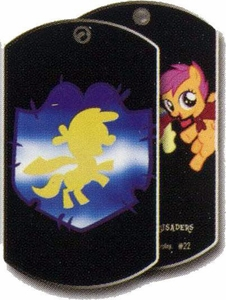 My Little Pony Friendship is Magic Single Dog Tag #22 Cutie Mark Crusaders