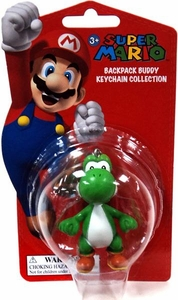 Super Mario Backpack Buddy Keychain Collection Yoshi