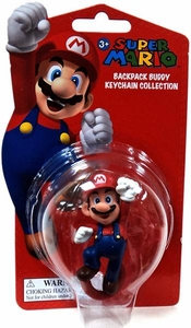 Super Mario Backpack Buddy Keychain Collection Mario