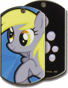 My Little Pony Friendship is Magic Single Dog Tag #24 Derpy Hooves