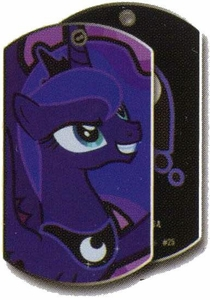 My Little Pony Friendship is Magic Single Dog Tag #25 Princess Luna