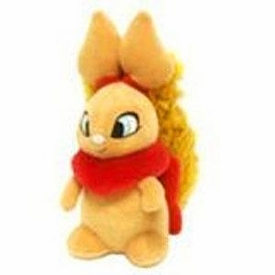 Neopets 3 Inch Mini Plush Key Clip Red Usul