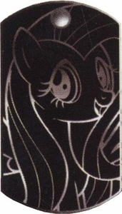 My Little Pony Friendship is Magic Single Dog Tag #30 Metallic Fluttershy