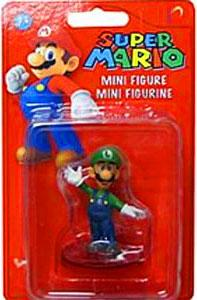 Banpresto Super Mario Mini Figure with Stand Luigi