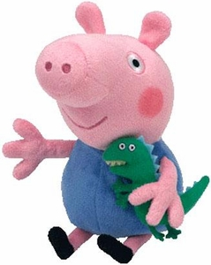 Ty Peppa Pig UK Exclusive Beanie Baby George