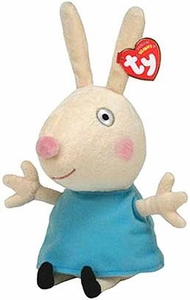 Ty Peppa Pig UK Exclusive Beanie Baby Rebecca Rabbit