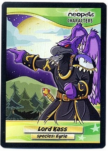 Neopets Characters Species Fun Pak Holofoil Card #F3 Lord Kass [Species Eyrie]