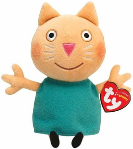 Ty Peppa Pig UK Exclusive Beanie Baby Candy Cat