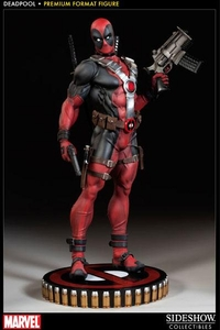 Sideshow Collectibles Marvel 18 Inch Premium Format Resin Statue Deadpool