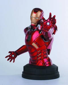 Marvel Avengers Gentle Giant 7.5 Inch Deluxe Iron Man Mini Bust