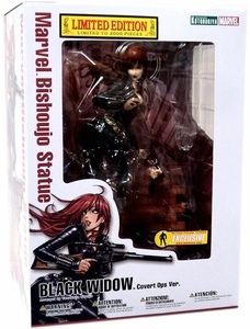 Marvel 2012 SDCC San Diego Comic Con Exclusive Bishoujo 1/7 Scale Statue Black Widow