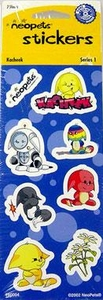 Neopets Stickers Sheet [Random]