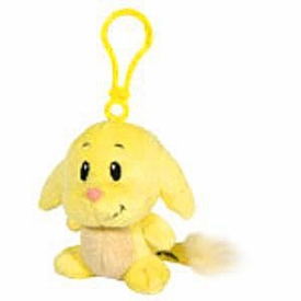 Neopets 3 Inch Mini Plush Key Clip Yellow Kacheek