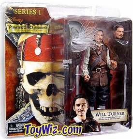NECA Pirates of the Caribbean Curse of the Black Pearl Series 1 Action Figure Will Turner