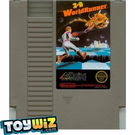 Nintendo Entertainment System NES Played Cartridge Game 3-D WorldRunner