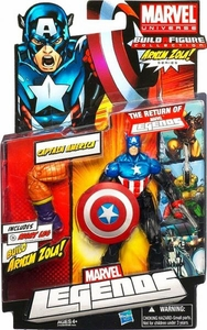Marvel Legends 2012 Series 2 Action Figure Captain America [Arnim Zola Build-A-Figure Piece]