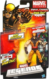 Marvel Legends 2012 Series 2 Action Figure Dark Wolverine {Masked} [Arnim Zola Build-A-Figure Piece]