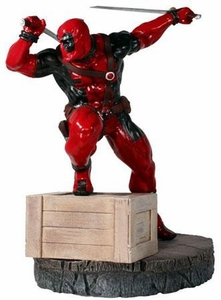 Marvel Kotobukiya Danger Room Sessions 10 Inch Fine Art Statue Deadpool
