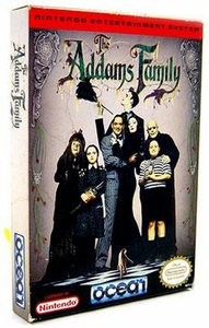 Nintendo Entertainment System NES Complete Opened Cartridge Games Addams Family
