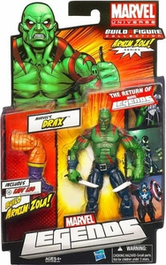Marvel Legends 2012 Series 2 Action Figure Marvel's Drax [Arnim Zola Build-A-Figure Piece]