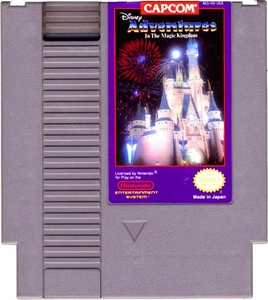 Nintendo Entertainment System NES Played Cartridge Game Disney Adventures in the Magic Kingdom