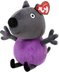 Ty Peppa Pig UK Exclusive Beanie Baby Danny Dog