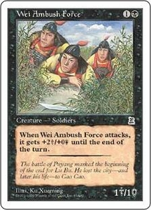 Magic the Gathering Portal Three Kingdoms Single Card Common #85 Wei Ambush Force