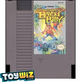 Nintendo Entertainment System NES Played Cartridge Game The Adventures of Bayou Billy